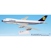 Lufthansa (67-89) Boeing 747-100 Airplane Miniature Model Snap Fit 1:200 Part#ABO-74710H-006