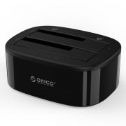 "Rack extern HDD/SSD Orico 6228US3-C PRO 2x 2.5/3.5"", USB 3.0, docking station"