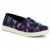 Обувки TOMS - Classic 10015284 Navy Electric Love