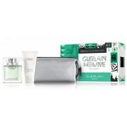 Guerlain Homme L'eau Boisee /мъжки комплект/ - EdT 80 ml + душ гел 75 ml + несесер