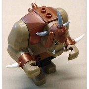 Lego Big Tan Orc Troll Guy Castle Minifig x1 Loose