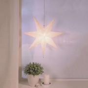 Hanging paper star Romantic Star