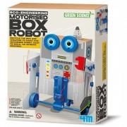 4M Spel Motorised Box Robot voor kinderen - Grijs, Blauw