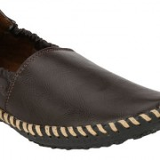 Wave Walk MenS Brown Casual Loafers (ZEPO-3-BROWN)