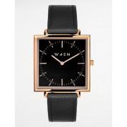 When Watches, NEW STANDARD, Svart, Klockor till Unisex, One size