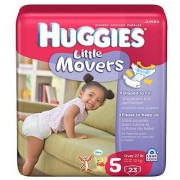Huggies Little Movers Diapers Size 5 23-count