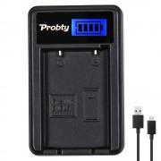 Probty en-el5 en el5 el5 lcd usb batterij lader voor nikon Coolpix P80 P90 P100 P500 P510 P520 S10 P3 P4 Digitale Camera
