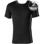 Jockey Комплект из 2 стильных хлопковых футболок черного цвета JOCKEY 18501822 (муж.) (2шт.) Черный распродажа