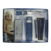 Paris Hilton 3.4 oz / 100.55 mL Eau De Toilette Spray + 3 oz / 89 mL Body Wash + 2.75 oz / 81.33 mL Deodorant Stick + 0.25 oz /