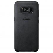 Samsung Galaxy S8+ Alcantara Cover EF-XG955AS - Dark Grey