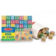 Cuburi litere si numere, 50 buc