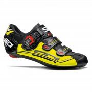 Sidi Genius 7 Road Shoes - Black/Yellow Fluo/Black - EU 44.5 - Black/Yellow Fluo/Black