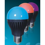 LED RGBW Dimmable RF/WiFi Light Bulb - Colour changing