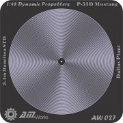 Alliance Model Works 1:48 Prop Blur P-51D Mustang #AW027