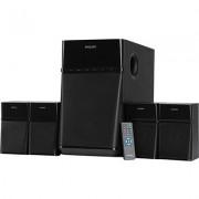 Philips SPA8180B/94 80 W Bluetooth Home Audio Speaker (Black, 4.1 Channel)