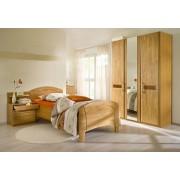 HOME AFFAIRE 4-delige set slaapkamermeubelen »Sarah«, met ledikant 100x200 cm en 2- of 3-deurs kast