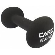 Care Fitness dumbbell 5 kg zwart