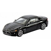 """Bburago 1/43 Street Fire (3.5"""") Maserati Gran Tourismo - Black"""
