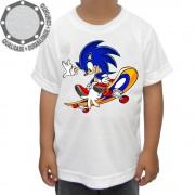 Camiseta Sonic Skate