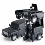 Masina Rastar Land Rover Transformer 1 14 2.4GHz RTR AA baterie - negru cu telecomanda