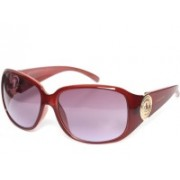 Mayhem Over-sized Sunglasses(Violet)