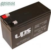 UPS 12V 7,2Ah F2 akkumulátor