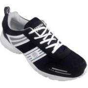 Action White Blue Sport running Shoe -7157 Walking Shoes For Men(White)