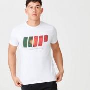 Myprotein T-Shirt Team Portugal - XS - White