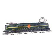 Bachmann Trains Williams by Bachmann GG-1 Electric - PRR #4885 - Single Stripe Train (O Scale), Brunswick Green