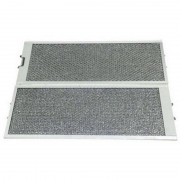 SIEMENS Lot de 2 filtres métal antigraisses (00460007, 460007) Hotte 44243