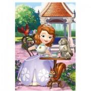 Puzzle clasic pentru copii - Printesa Sofia si prietenii sai, 24 piese