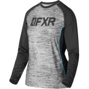 FXR Helium X Tech Camisa Funcional de Damas Negro Gris 2XL