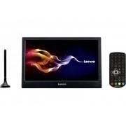 """Lenco Bärbar TV 25.4 cm 10 """" Lenco TFT-1028 inkl. 12 V strömkabeln för fordon, inkl. DVB-T-antenn Svart"""