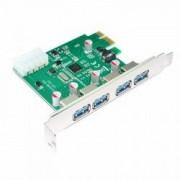 Placa PCI-Express adaptor la 4 x USB 3.0