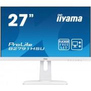 "Monitor TFT, IIYAMA 27"", B2791HSU-W1, 1ms, 12Mln:1, HDMI/DP, Speakers, FullHD"