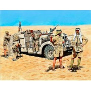 Master Box Ltd. LRDG in Northern Africa figura makett MB3598