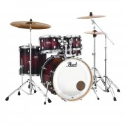Pearl Decade Maple DMP925S/C, Gloss Deep Red Burst #261