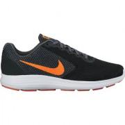 Nike Revolution 3 Men'S Black Running Shoes