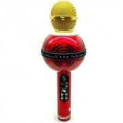 Soundnova WS-878 MIC Bluetooth Recording Condenser Handheld Stand Speaker for Android Microphone