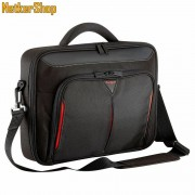 "Targus Classic+ 18"" Clamshell fekete Notebook táska (3 év garancia)"