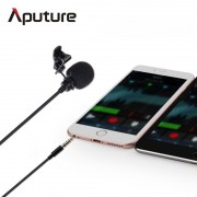 New Arrival Aputure A.lav ez lavalier microphone for mobile/smartphone lavalier clip-on microphone for mobile voice recording