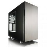 Кутия Fractal Design Define R5 Titanium Window, ATX/Micro-ATX/Mini-ITX, 2x USB 3.0, прозорец, без захранване