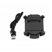 ER Carga De Alimentación USB Cable De Datos Base Dock&sync Para Fenix 3 Relojes Deportivos De Garmin -Negro