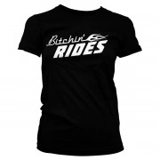 Tee Bitchin' Rides Logo Girly Tee