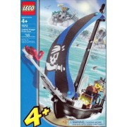 LEGO Pirates: Captain Kragg's Pirate Boat (7072)