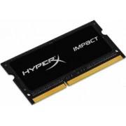 Memorie Laptop HyperX Impact Black 4GB DDR3 1600MHz CL9