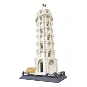 Otulet Wange 8012 The Leaning Tower Of Pisa Building Block Set Toys Worlds Great Architecture Series