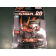 Tony Stewart Home Depot #20 Bud Budweiser Shootout February 11, 2007 Raced Win Post Race 1/64 Scale Car Winners...
