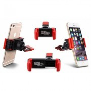 Aduro U-Grip Swivel Car Vent Mount: 3-Pack/Red