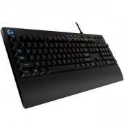 Геймърска клавиатура Logitech G213 Prodigy Gaming Keyboard, RGB Backlit, Qwerty UK Layout - Black, 920-008091